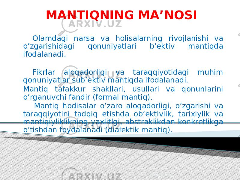 Mantiqiy-savollar