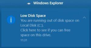 Windows tizimidagi C diskni qanday tozalash mumkin?